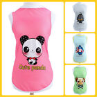 pet puppy dog cat clothes singlet mesh vest T shirt apparel cool summer clothing
