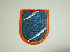 Vintage Military Air Force Insignia Embroidered Iron On Patch Lightning Bolts