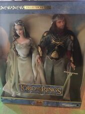 Barbie And Ken As Arwen and Aragorn In LOTR