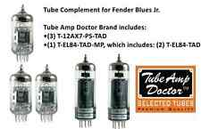 TUBE AMP DOCTOR Tube Complement set for Fender Blues Jr amplifier amp