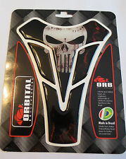 "ORBITAL TANK PROTECTOR PAD - UNIVERSAL - BLACK PUNISHER BLOOD - 5.6"" x 7.2"""