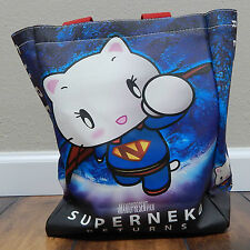 Tenshi Neko Tote SUPERGIRL Hello Angel Kitty Purse Japan Hand Gym Bag Handbag fs