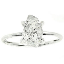 Herkimer Diamond 925 Sterling Silver Ring Jewelry s.8 HKDR1081