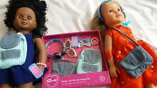 BNIB 18 inch doll accesories fits design a friend american girl our generation b