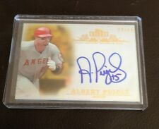 2013 TOPPS TRIBUTE ALBERT PUJOLS ON CARD AUTO AUTOGRAPH 12/15 GOLD PARALLEL RARE