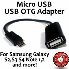 Micro USB OTG Host Cable Adapter for Samsung Galaxy S2 S3 S4 S5 Note Nexus