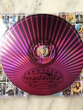 "ULTRA RARE MADONNA  15-TRACK  INDIAN  CD ""GHV2""  UNIQUE METALIC PINK ARTWORK CD"