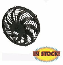 """Spal Medium-Profile Cooling Fan 12"""" Puller with Curved Blades 1,325 CFM 30101522"""
