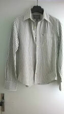 """ABERCROMBIE & FITCH JOLIE CHEMISE RAYEE TAILLE """"S"""" TBE"""