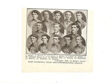 East Liverpool Potters 1909 Baseball Team Picture