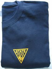 MENS  NEW JERSEY STATE POLICE TEE SHIRT - S/S - SIZE  -  MEDIUM