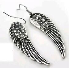 Devil Angel Demon Wings Earrings Gift Set Heavy Metal Punk Rock and Roll Fashion