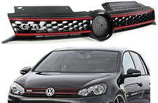 VW Golf 6 1K 08-13  GRILL SPORT KÜHLERGRILL MIT WABEN GTI LOOK NEU