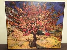 Van Gogh Wall Decor Mullberry Tree Painting Stretched Canvas Reproduction