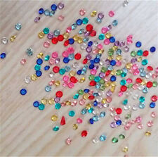 1000pcs 3mm Crystal Birthstones Floating Charm for Glass Living Memory Lockets