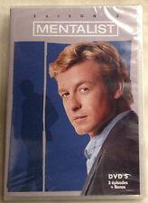 DVD MENTALIST SAISON 2 DVD 5 (3 épisodes) SIMON BAKER  NEUF