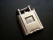 Very Rare 1927 Dunhill Solid Silver Watch/Lighter in Very Good Condition