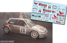 Decal 1:43 Jose Antonio Torres CITROEN SAXO KIT CAR Rally El Corte Ingles 2001