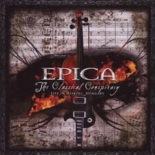 "EPICA ""THE CLASSICAL CONSPIRACY"" 2 CD GOTHIC METAL NEU"