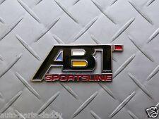ABT Aluminum Emblem Audi Volkswagen VW Racing Golf Jetta