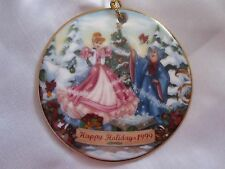 Disney Cinderella Christmas Collection Happy Holidays Fairy Godmother Ornament