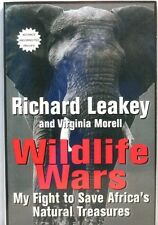 WILDLIFE WARS Leakey Africa Animals African Kenya Elephant Ivory Poacher ARC 1st