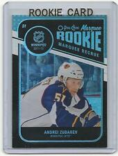 11-12 OPC Rainbow Black Andrei Zubarev Marquee Rookie Card RC #596 Mint 033/100