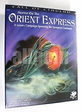 Call of Cthulhu 6th/7th HORROR ON THE ORIENT EXPRESS Boxed Set 2015 Chaosium NEW