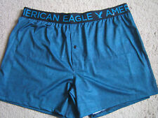 American Eagle Mens Polyester Button Fly Boxer Underwear - XL - NEW!!
