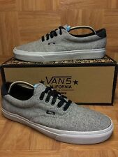RARE�� VANS California Laced Era 59 Wool Gris Wolf Gray Sz 13 Classic VTG SICK!