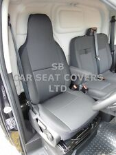 TO FIT FORD TRANSIT CUSTOM VAN SEAT COVER 2016 EBONY BLACK - DRIVER'S ONLY