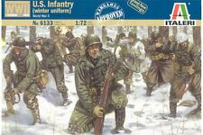 ITALERI 6133 1/72 Infanterie US Uniforme d'Hiver – US Infantry (Winter Uniform)