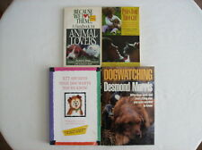 Lot of 4 Books on Dogs and Dog Behavior and Interactions with  Humans