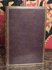 Zacharie, Les quatre parties du jour, 1769 EO reliure maroquin signée Eisen