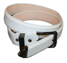GENUINE HEAVY COW HIDE LEATHER MEN'S  BELT MADE IN USA ~~~~