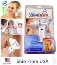 WaxVac Ear Cleaner Wax Remover Wax Vac As Seen On TV Brand New Sealed US USA