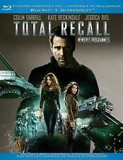Total Recall (Blu-ray/DVD, 2012, Canadian Extended Edition)m