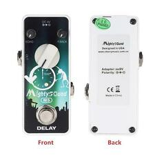 Mighty Sound M5 Mini Delay Electric Guitar Effect Pedal True Bypass R8P7