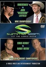 WWE Summerslam 2004 DVD NEU