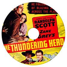 THE THUNDERING HERD - Randolph Scott, Judith Allen, Buster Crabbe - 1933 - DVD