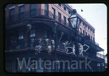1950s red border Kodachrome photo slide New Orleans LA NOLA building