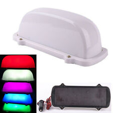 10 LED Car Taxi Topper Roof Blank DIY Sign Light Lamp Magnetic Super Bright