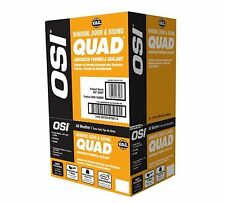OSI 12 Pack #303 Clay QUAD Advanced Formula Window Siding Door Sealant