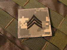 Galons velcro US - SERGEANT - grade scratch ACU DIGITAL rank insignia