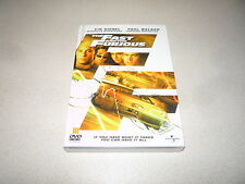 THE FAST AND THE FURIOUS DVD PAUL WALKER & VIN DIESEL