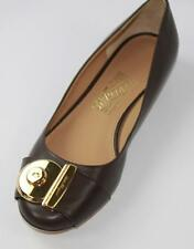 AUTH Salvatore Ferragamo Women Fiamma Flat Ballet Shoes 7B