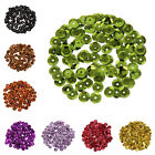 Wholesale 1000Pcs Acrylic Spacer Loose Flat Beads for Jewelry Making Findings