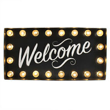 Light Up Welcome Sign - Home Gift