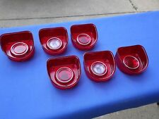 NEW 1968 Chevrolet Chevy Impala BelAir Biscayne Tail Light Lamp Base & Lens Lot