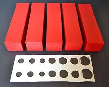 500 2x2 ASSORTED CARDBOARD MYLAR COIN HOLDERS + 5 BOXES YOU CHOOSE SIZES!! NEW!